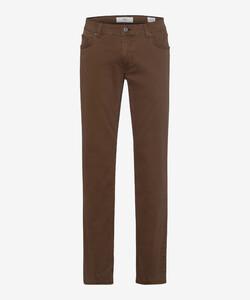 Brax Cooper Fancy Supima Cotton Pants Nut