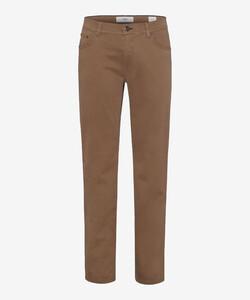 Brax Cooper Fancy Supima Cotton Pants Walnut