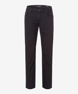 Brax Cooper Fancy Wool Look Pants Graphite Grey