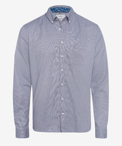 Brax Daniel Button Down Uni Shirt Grey