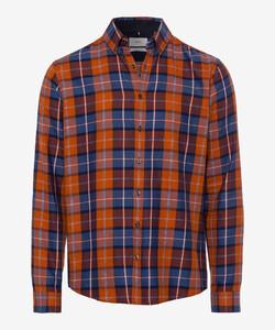 Brax Daniel Check Overhemd Rood
