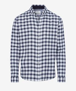 Brax Daniel Check Shirt Navy
