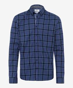 Brax Daniel Hi-Flex Shirt Navy