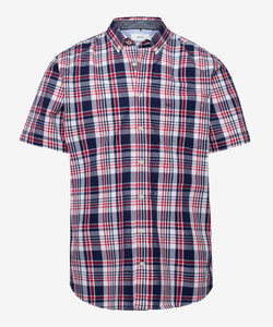 Brax Drake Button Down Overhemd Rood
