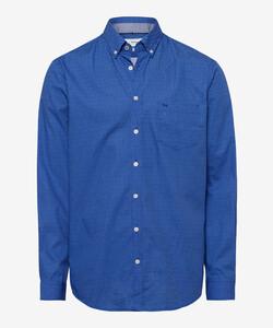 Brax Dries Fine Fantasy Overhemd Blauw