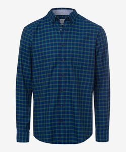 Brax Dries Overhemd Groen