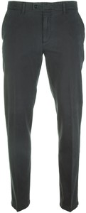Brax Evans Cotton Broek Midnight Blue