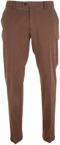 Brax Evans Cotton Pants Brown