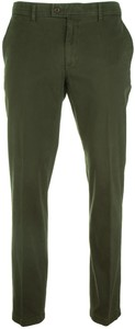 Brax Evans Cotton Pants Dark Green