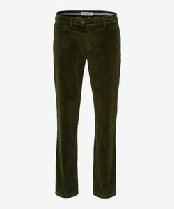Brax Everest Rib Corduroy Trouser Green