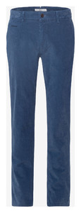 Brax Fabio In Hi-Flex Corduroy Corduroy Trouser Blue