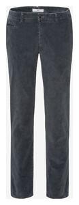Brax Fabio In Hi-Flex Corduroy Corduroy Trouser Graphite Grey
