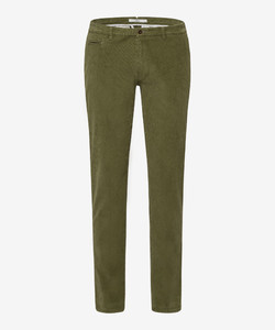 Brax Fabio In Hi-Flex Corduroy Ribbroek Avocado