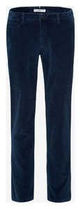 Brax Fabio In Hi-Flex Corduroy Ribbroek Midnight