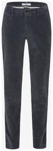 Brax Fabio In High Flex Corduroy Corduroy Trouser Graphite Grey