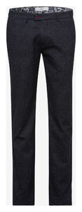 Brax Fey Wool Look Broek Navy