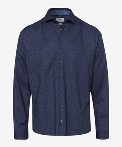 Brax Fine Fantasy Dot Shirt Navy