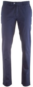 Brax Frederic Contrast Chino Pants Midnight