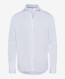 Brax Harold Hi Flex Overhemd Wit