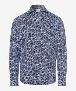 Brax Harold Minimalistic Design Hi-Flex Overhemd Blauw