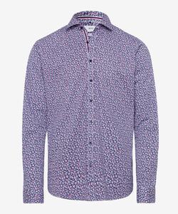 Brax Harold Minimalistic Design Hi-Flex Overhemd Rood