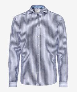 Brax Harold Overhemd Navy