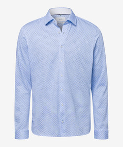 Brax Henry Shirt Blue