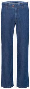 Brax Jim 316 Summer Denim Jeans Jeans Blauw