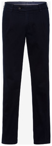 Brax Luis 347 Winter Gaberdine Broek Navy