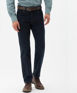 Brax Luke High Stretch Denim Jeans Zwart-Blauw