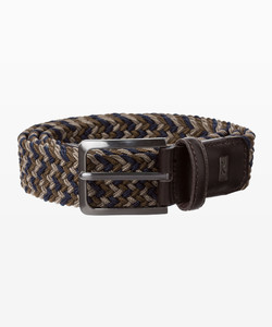 Brax Multicolor Woven Belt Belt Cocoa