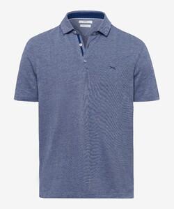 Brax Pepe Ultralight Cotton Poloshirt Azure