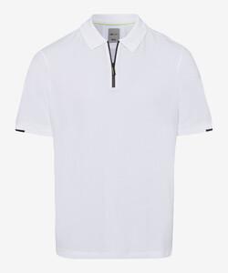 Brax Percy BRX LAB Piqué Poloshirt White