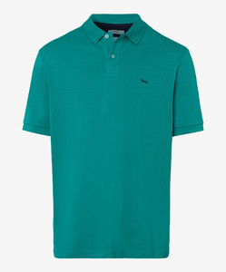 Brax Pete Pique Pima Cotton Polo Mint