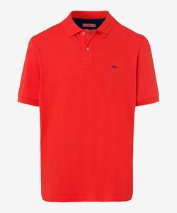 Brax Pete Pique Pima Cotton Poloshirt Heat