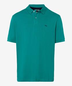 Brax Pete Pique Pima Cotton Poloshirt Mint