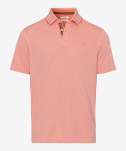 Brax Petter Two Tone Look Poloshirt Orange