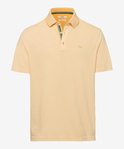Brax Petter Two Tone Look Poloshirt Sunset