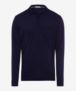 Brax Philip Pima Cotton Polo Ocean