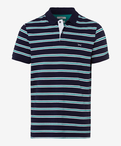 Brax Piero Pima Cotton Piqué Polo Ocean