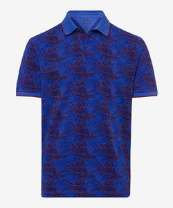 Brax Pietro Floral Polo Royal