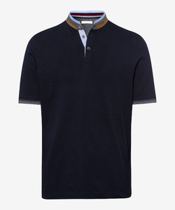 Brax Pollux Collar Contrast Polo Dark Navy