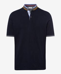Brax Pollux Collar Contrast Poloshirt Dark Navy