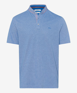 Brax Pollux Stand Up Collar Poloshirt Imperial