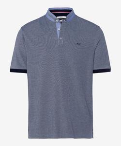 Brax Pollux Stand Up Collar Poloshirt Ocean
