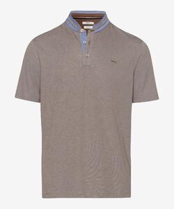 Brax Pollux Stand Up Collar Poloshirt Scotch