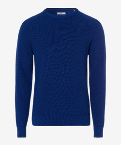 Brax Rob Cotton Pullover Royal