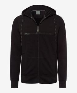 Brax Sammy Hoodie BRX LAB Vest Zwart