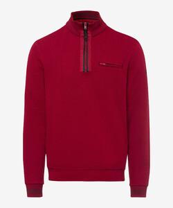 Brax Sion Uni Contrast Pullover Merlot