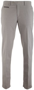Brax Structured Everest Contrast Pants Light Grey